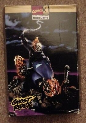 REDUCED Marvel Ghost Rider model kit 1996 unassembled excellent condition
