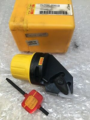 New Sandvik Capto C5 T-Max P Indexable Turning Cutter C5-MTJNR-35060-22 W//insert