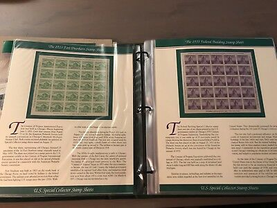 U.S. Special Collector Stamp Sheets