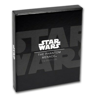 Niue -2017-2018-- Silver $2 Proof Coin- 4x 1 OZ Star Wars Series Poster