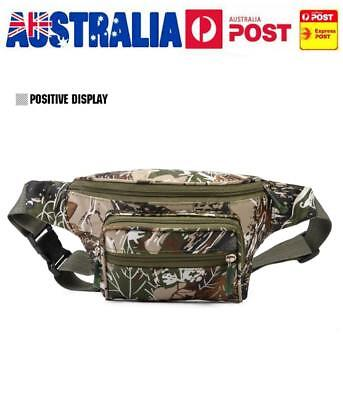 Men Women Outdoor Tactical Waist Bag Fanny Pack Camouflage Military Army Belt