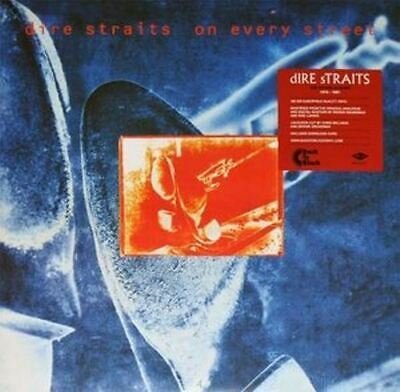 Dire Straits On Every Street remastered 180gm vinyl 2 LP +download NEW/SEALED