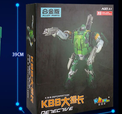 New Deformation toys Kubo alloy version of the camouflage inspector boy car