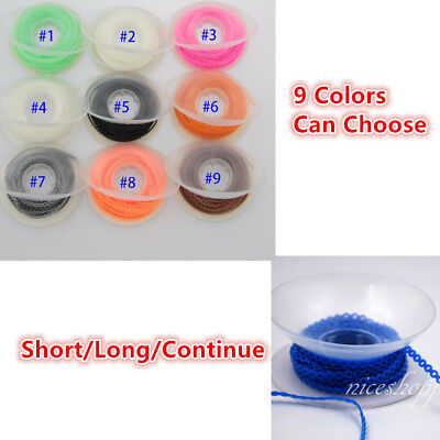 1 Roll Dental Orthodontic Elastic Power Ultra Chain Continuous 15 Sheet 9 Colors