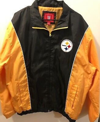 brand new d589a 6fb33 PITTSBURGH STEELERS JACKET XL - $29.99 | PicClick
