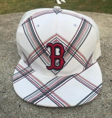 Vtg Twins  47 OSFA Boston Red Sox Adjustable Mesh Snapback MLB Baseball Hat  Cap 8ed3fee31193