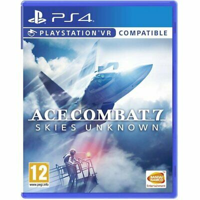 In stock Ace Combat 7 Skies Unknown PS4 Game Brand New & Sealed