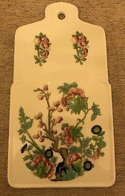 """Beautiful House Of Prill Porcelain Cheese Server/ Trivet  10 X 5.5"""""""