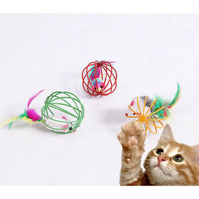 1 pcs Funny Gift Play Playing Toys False Mouse in Rat Cage Ball For Pet Cat