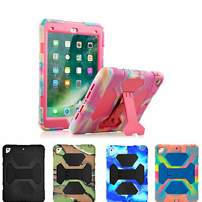 iPad 5/6th Gen 2018/2017 9.7 Case Heavy Duty Shockproof Rugged Cover For Apple