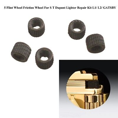 5 Flint Wheel Friction Wheel For S T Dupont Accendino Repair L1/ L2/ GATSBY LQ