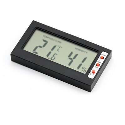 LCD Digital Temperature Hygrometer Humidity Meter Gauge for Cars Home Office UK