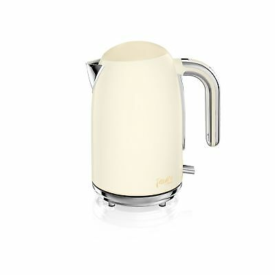 Fearne by Swan SK34030HON Quiet Boil Jug Kettle, 3kw, 1.7 Litre, Honey