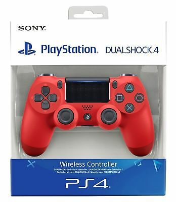 Sony Controller Dualshock V2 Ps4 Playstation 4 Nuovo Wireless Rosso Red
