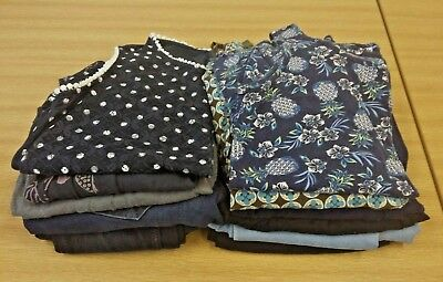 Large bundle of branded maternity clothes - 12 pieces (Size 10)