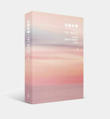 [Bts] - 花樣年華 The Notes English Ver: Full Package + Tracking, Sealed