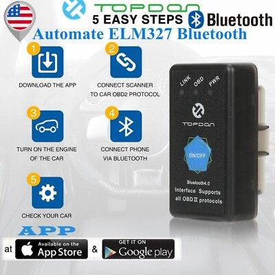 TOPDON OBD2 WIFI Scanner as ELM327 WIFI For Android iOS Car