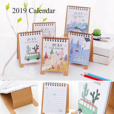 Drawing Notebook Scheduler Agenda Organizer Home Decor Desktop Paper Calendar