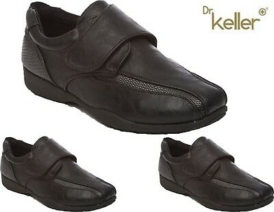 Ladies Dr Keller Comfy Hospital Nurse Shoes Womens Flat Low Wedge Work Boots Sz
