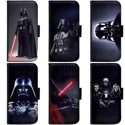PIN-1 Star Wars Darth Vadar Phone Wallet Flip Case Cover for All Models