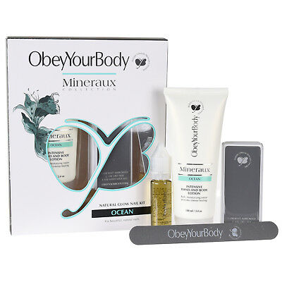 Obeyyourbody Nail Care Kit Hand und Nagelpflegeset Obey Your Body  Duft Ocean