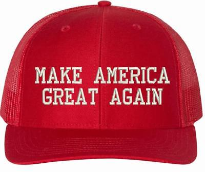 MAKE AMERICA GREAT AGAIN Donald Trump 112 Richardson MAGA Adjustable Hat