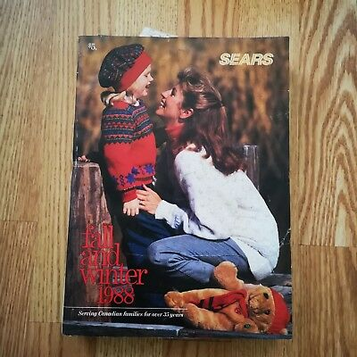Sears Canada Fall and Winter 1988 Catalogue 1012 pages in EX condition
