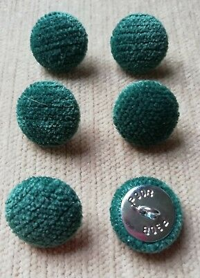 Chenille Velvet 36L//23mm Biscuit Upholstery Fabric Covered Buttons Craft Sewing