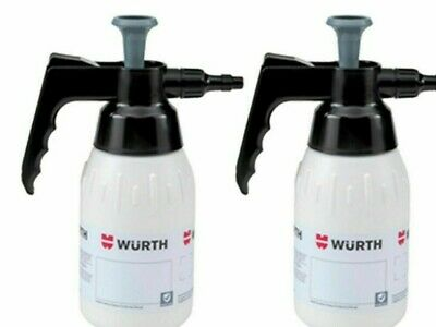 2x NEW Genuine WURTH Brake Cleaner 1L PUMP SPRAY BOTTLE DISPENSER 0891503001