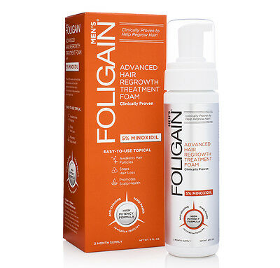 Foligain.f5 5% Minoxidil Foam For Men