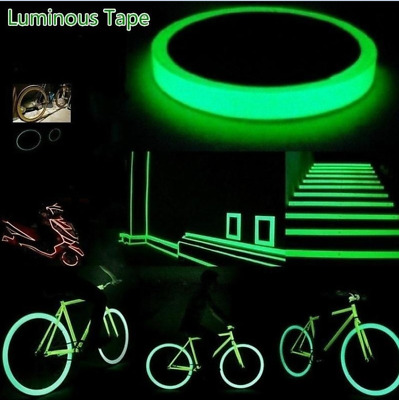 Luminous Tapes Warning Stripes Glow in The Dark Emergency Lines Wall Stickers