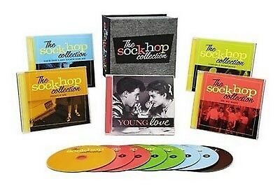 Sock Hop Collection Box Various Artists 8 CD Time Life New Sealed US Made/Shiped