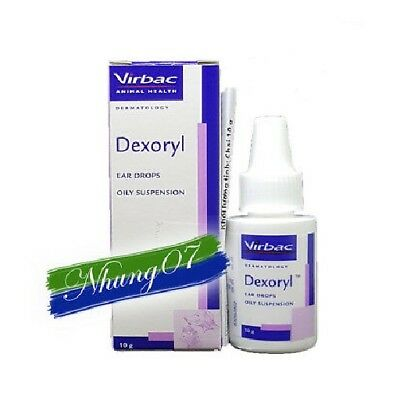 3 x Dexoryl ear drops for dogs and cats To treat ear, nose and mouth infections
