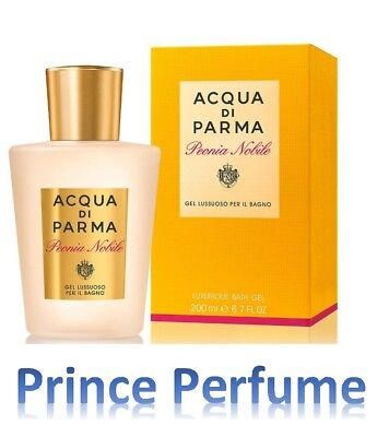 ACQUA DI PARMA PEONIA NOBILE LUXURIOUS BATH GEL - 200 ml