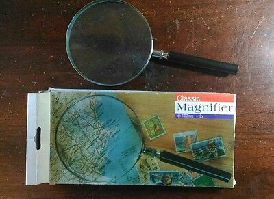 Lente ingrandimento Magnifier 100mm