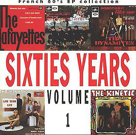 Various / Sixties Years Volume 1 French 60's Ep Collection / CD / Beat