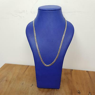 9ct Yellow Gold Curb Chain 15.6g