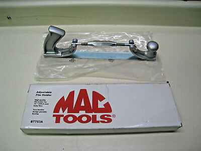 "New MAC Tools BT753A Adjustable File Holder Up to 14"" Body Files Free Shipping"
