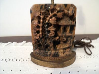 stone carved vintage bookend Beautiful, Heavy Very detailed. preowned