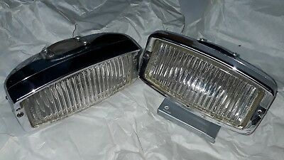 Hella 139 chrome fog light  Porsche 911 Mercedes Ford BMW 1970