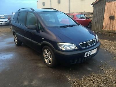 54 2004 Vauxhall Zafira 1.6i 16v Energy ***SPARES OR REPAIRS ONLY***