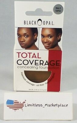 Black Opal Truly Topaz Total Coverage Concealing Foundation, 0.40 OZ.