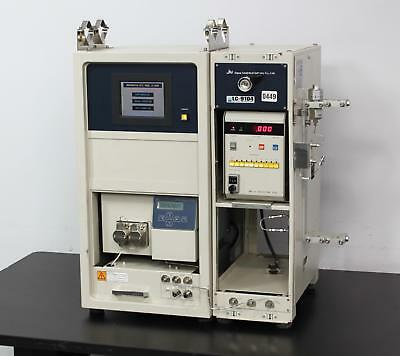 Japan Analytical LC-9104 Recycling Preparative HPLC w/ UV Detector & Pump