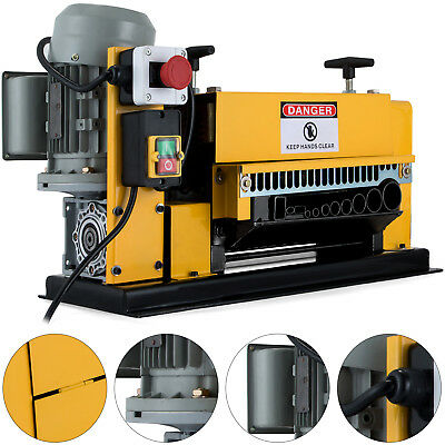 Powered Wire Stripping Machine 1-38mm 10 Blades Metal Cable 10 Channels