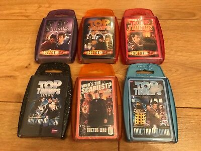 Top Trumps Specials Dr Who Card Game Spiele