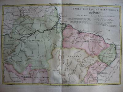 1780 - BONNE - Map NORTHERN BRAZIL