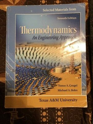 Thermodynamics An Engineering Approach By Boles And Cengel 8 Ed