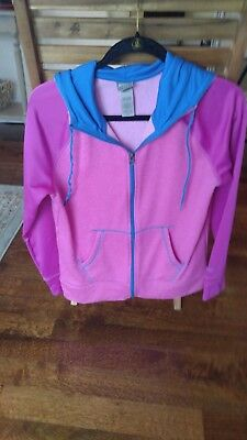 3edd03328272 WOMEN S CHAMPION FITTED Zipper Hoodie - medium - EUC -  7.99
