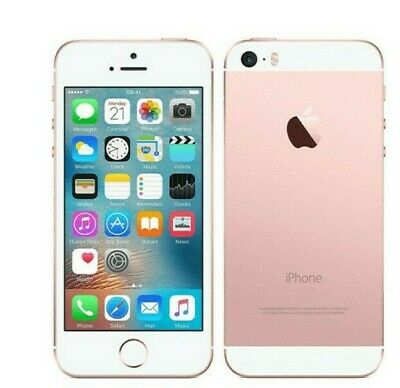 Apple iPhone SE 16GB Rose Gold Unlocked Great Condition