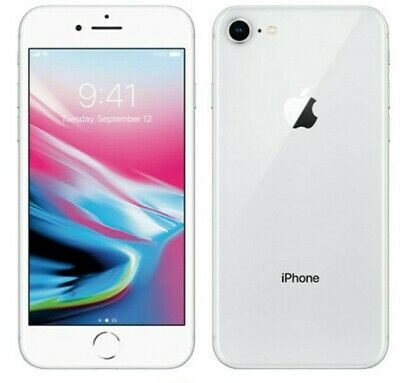 Apple iPhone 8 64GB Silver Unlocked Great Condition